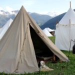 Cone-bell tents