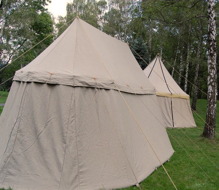 Sources show doublemast pavilions as richly ornamented tents for wealthy characters from the top of the social ladder. & Historical tents - Tentorium - Anglo-Saxon Geteld historical ...