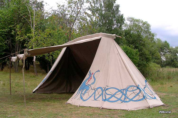 Historical tents - Tentorium - Anglo-Saxon Geteld historical tent soldier tents linen tents medieval tents cone tents Market-tents Vikings tents ... & Historical tents - Tentorium - Anglo-Saxon Geteld historical ...